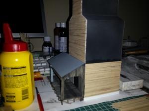 Scratch build grain elevator.
