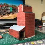 Scratch build grain elevator.